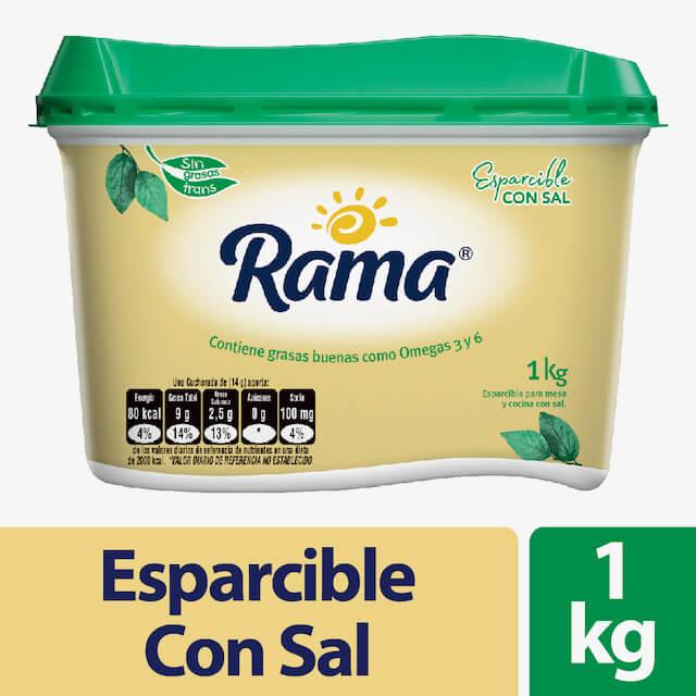 Esparcible Rama Con Sal 1000 G
