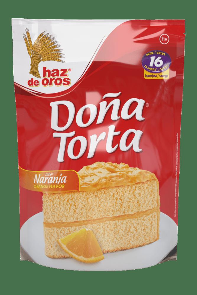 Doña Torta Haz De Oros Naranja 500 G