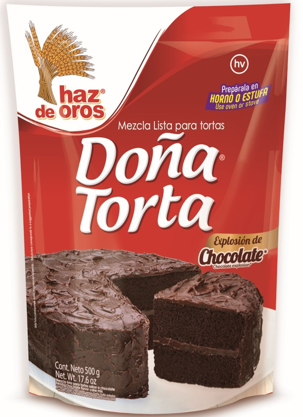 Doña Torta Haz De Oros Chocolate 500 G