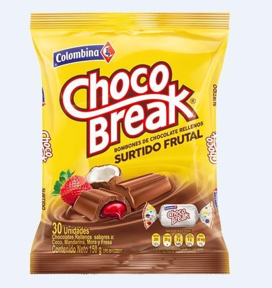 Dulce Choco Break X30 Und Tradicional 150 G