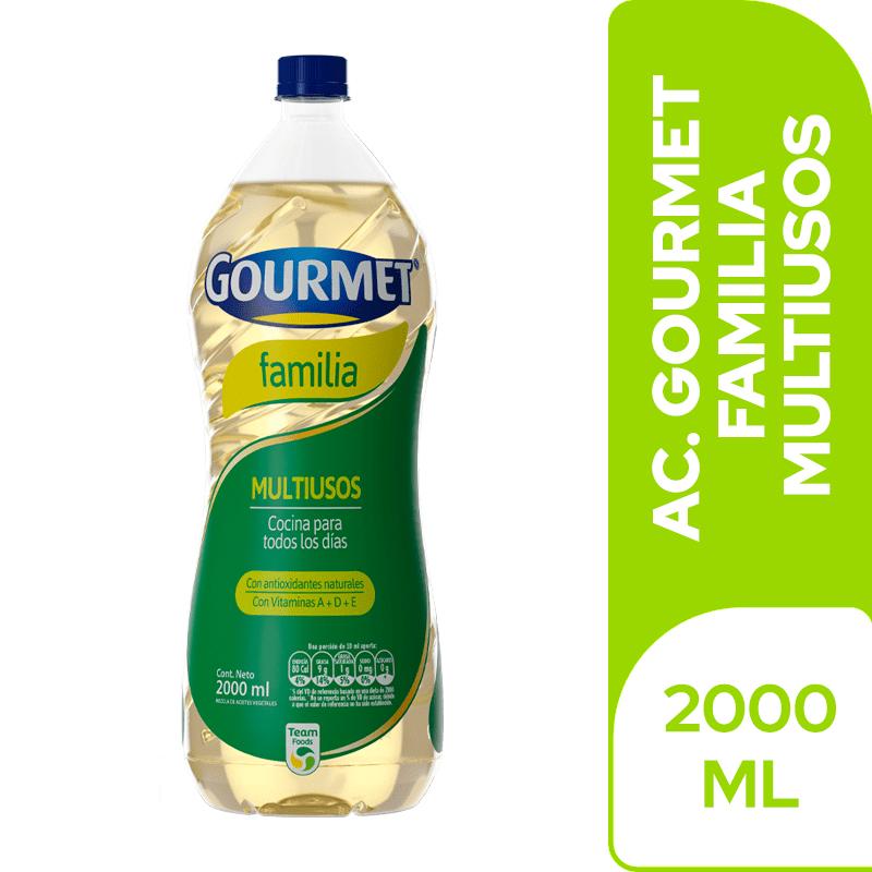 Aceite Gourmet Familia 2000 Cm3