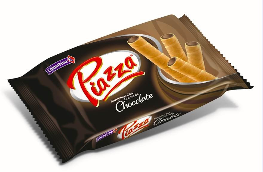 Barquillos Piazza Chocolate 44 G