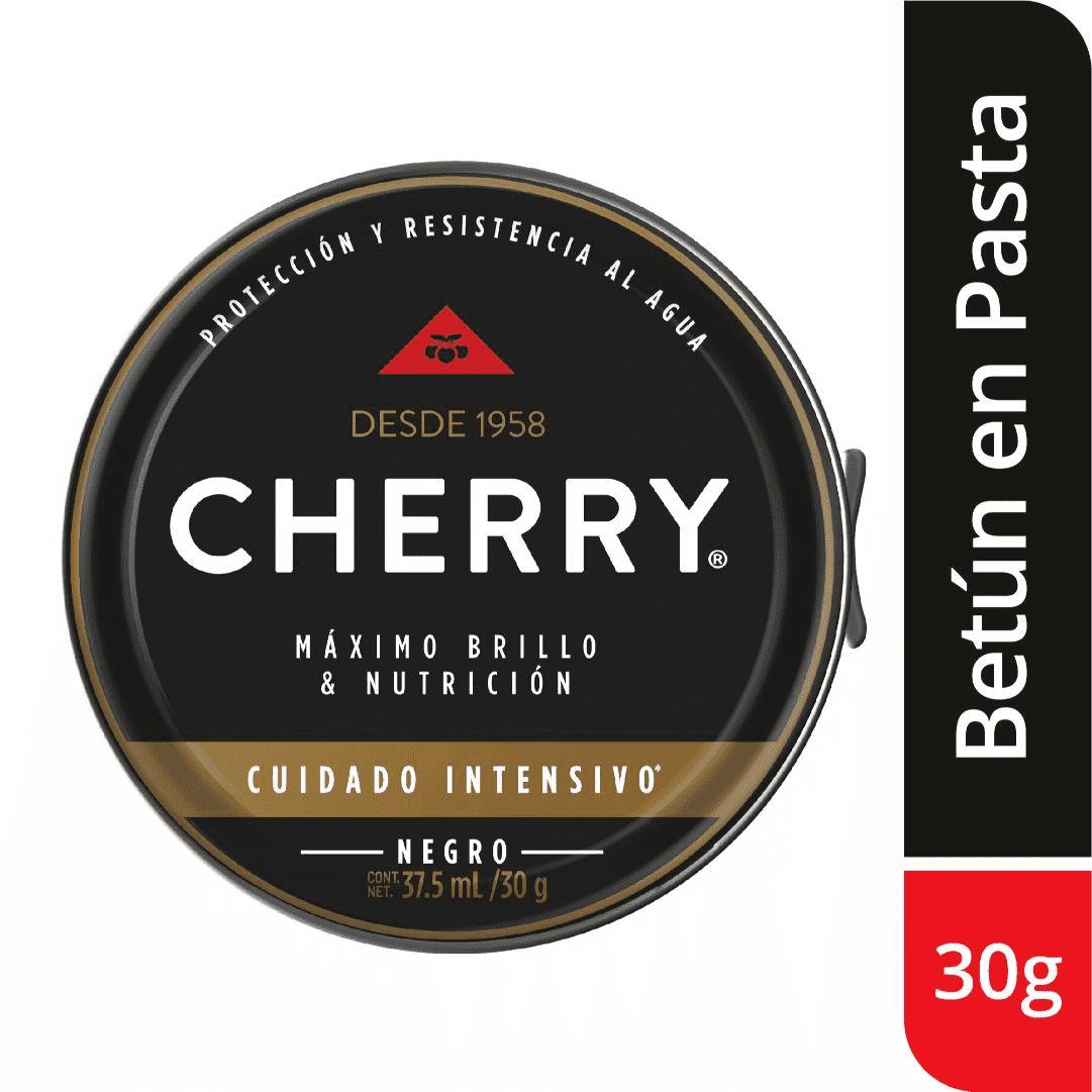Betún Pasta Cherry Negro 30G