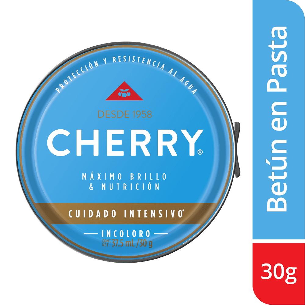 Betún Pasta Cherry Incoloro 30 G