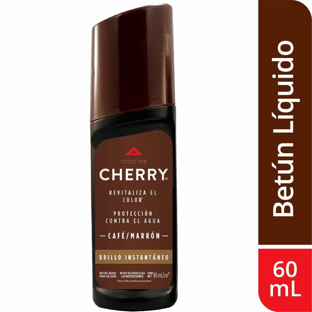 Betún Líquido Cherry Marrón 60Ml