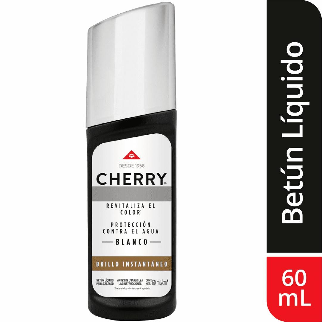 Betún Líquido Cherry Blanco 60Ml