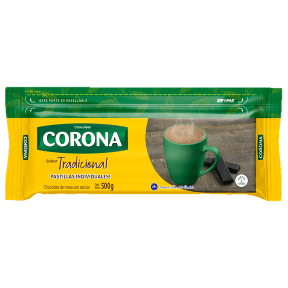 Chocolate Corona Tradicional 500 G