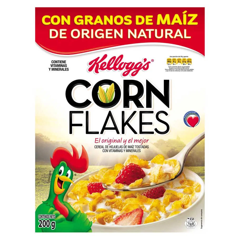 Cereal Corn Flakes Kelloggs 200 G