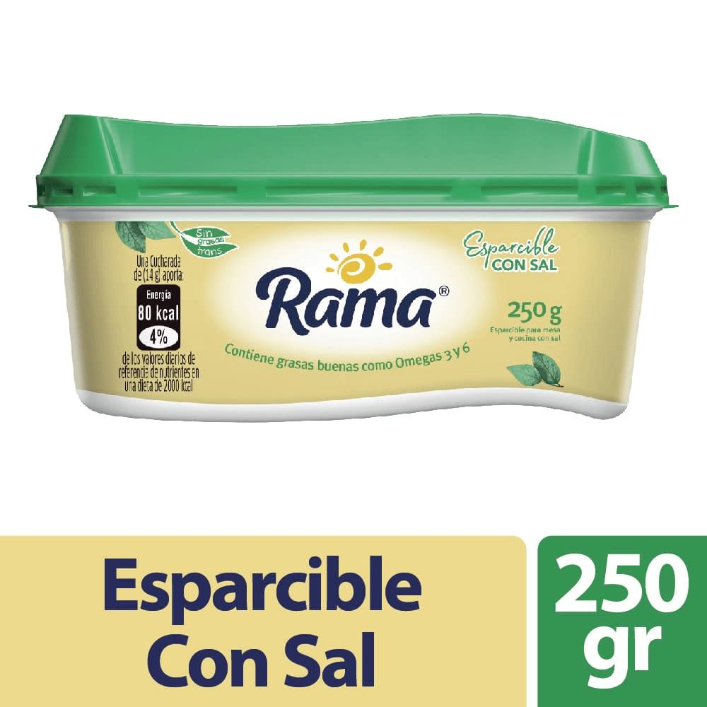 Esparcible Rama Con Sal 250 G