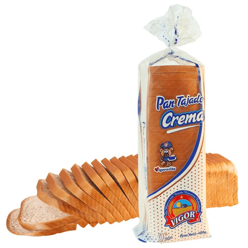 Pan Vigor Crema 480 G