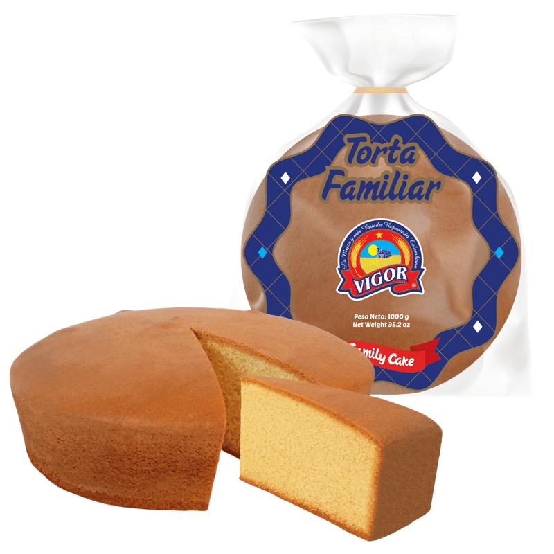 Torta Vigor Familiar 1000 G