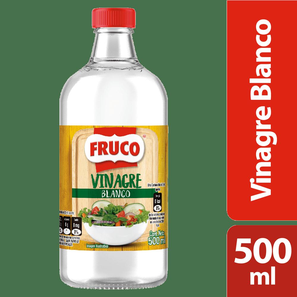 Vinagre Blanco Fruco 500 Ml