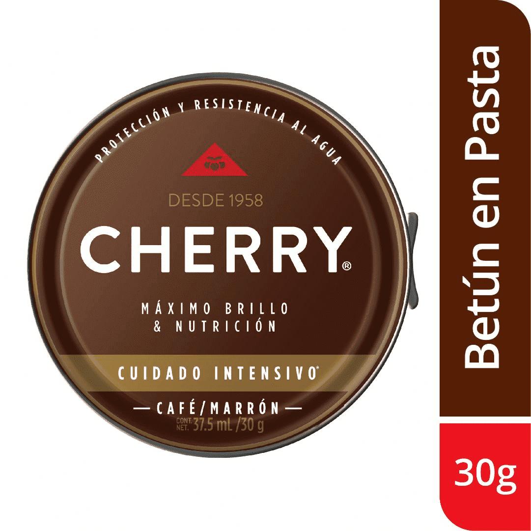 Betún Pasta Cherry Marrón 30G