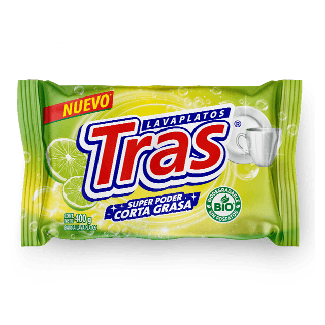Lavaplatos Tras Limón Taco 400 G