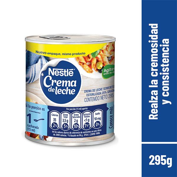 Crema De Leche Nestle 295 G