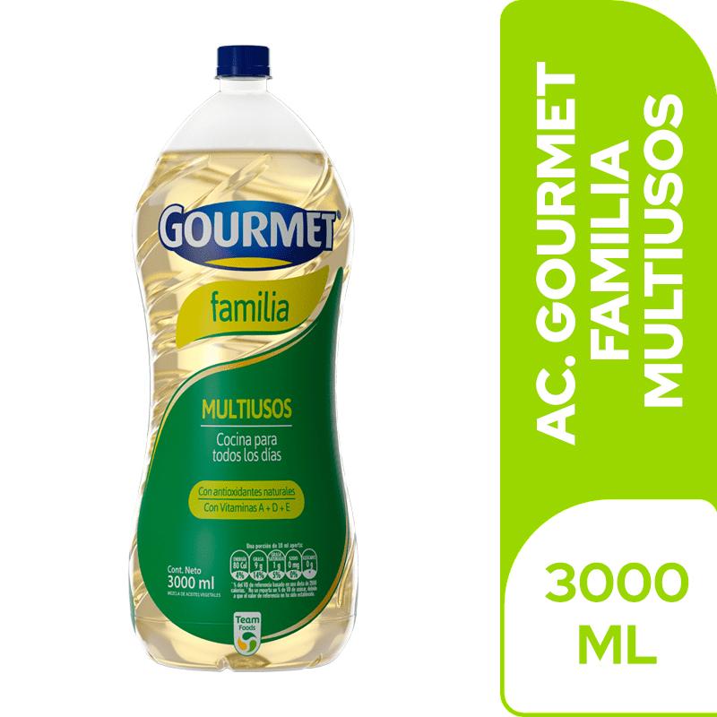 Aceite Gourmet Familia 3000 Cm3