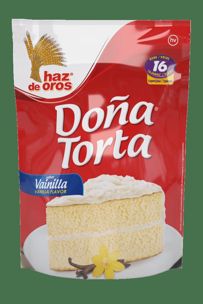 Doña Torta Haz De Oros Vainilla 500 G