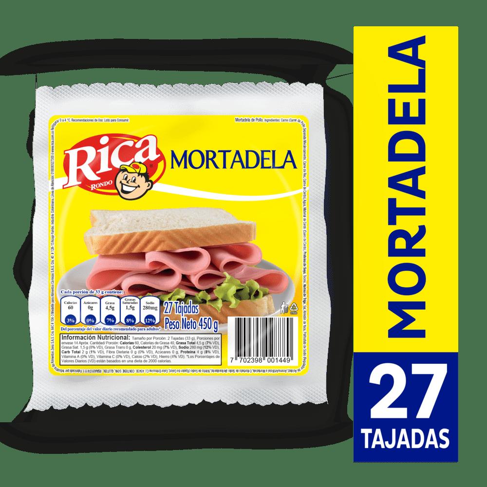 Mortadela Rica 450 G