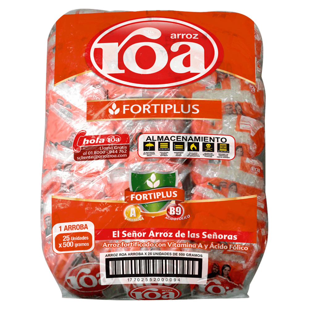 Arroz Roa 12500 G
