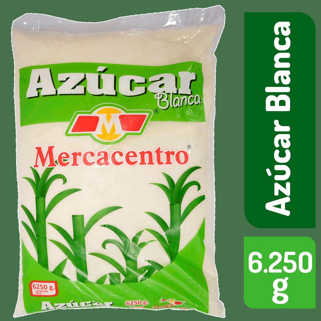 Azúcar  Blanca Mercacentro Media Arroba 6250 G