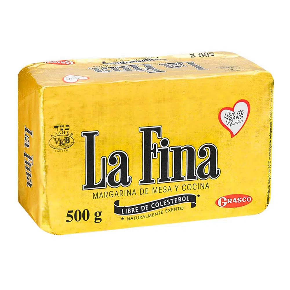 Margarina La Fina 500 G