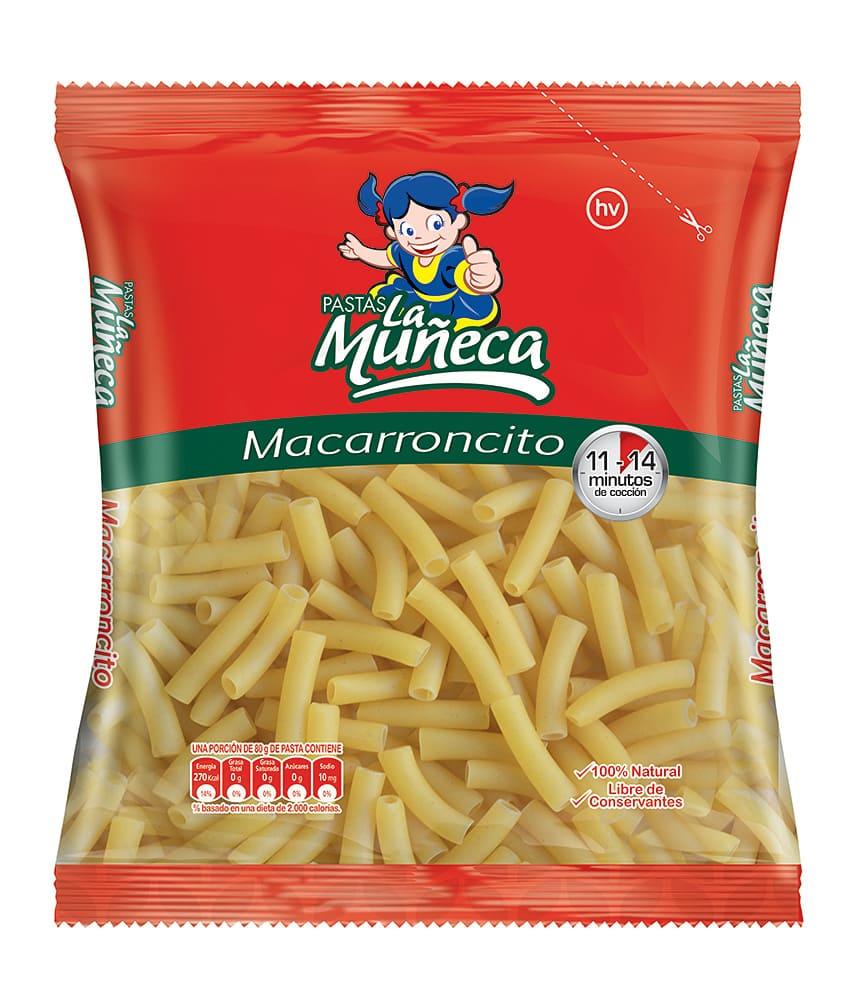 Pasta La Muñeca Macarroncito 250 G