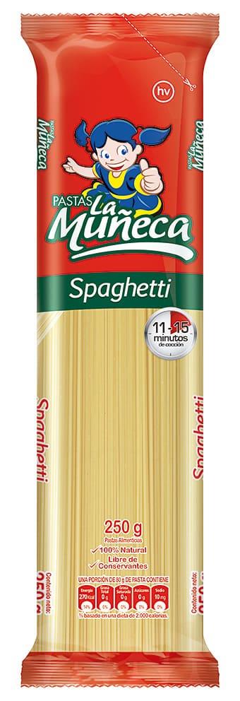Pasta La Muñeca Spaguetti 250 G