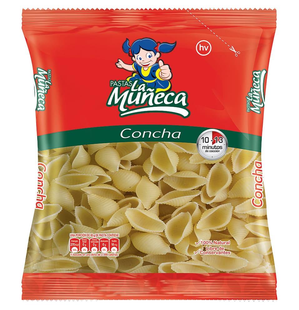 Pasta La Muñeca Conchas 250 G