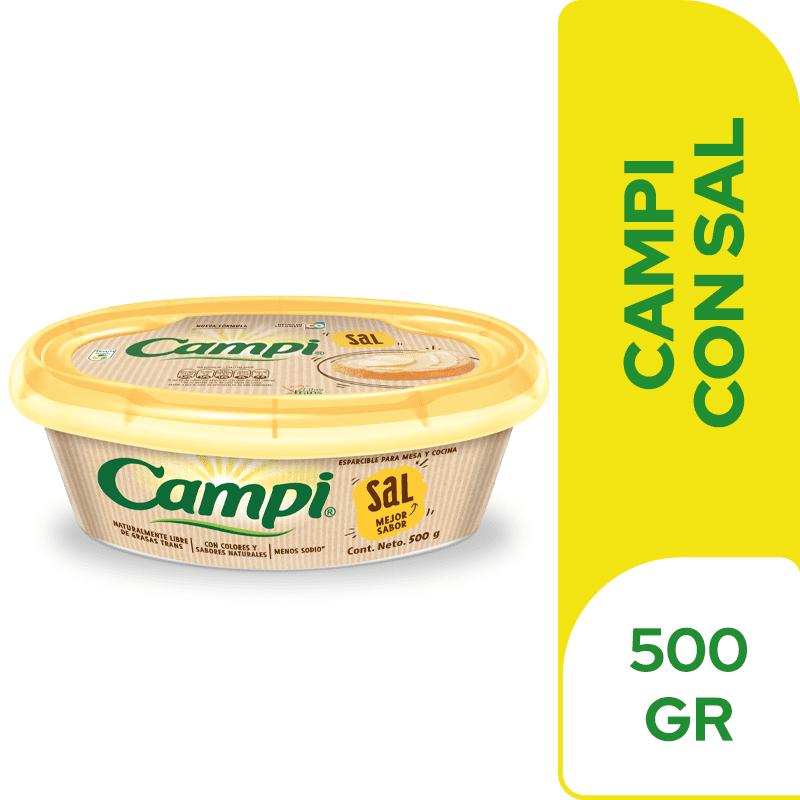 Margarina Campi Con Sal 500 G