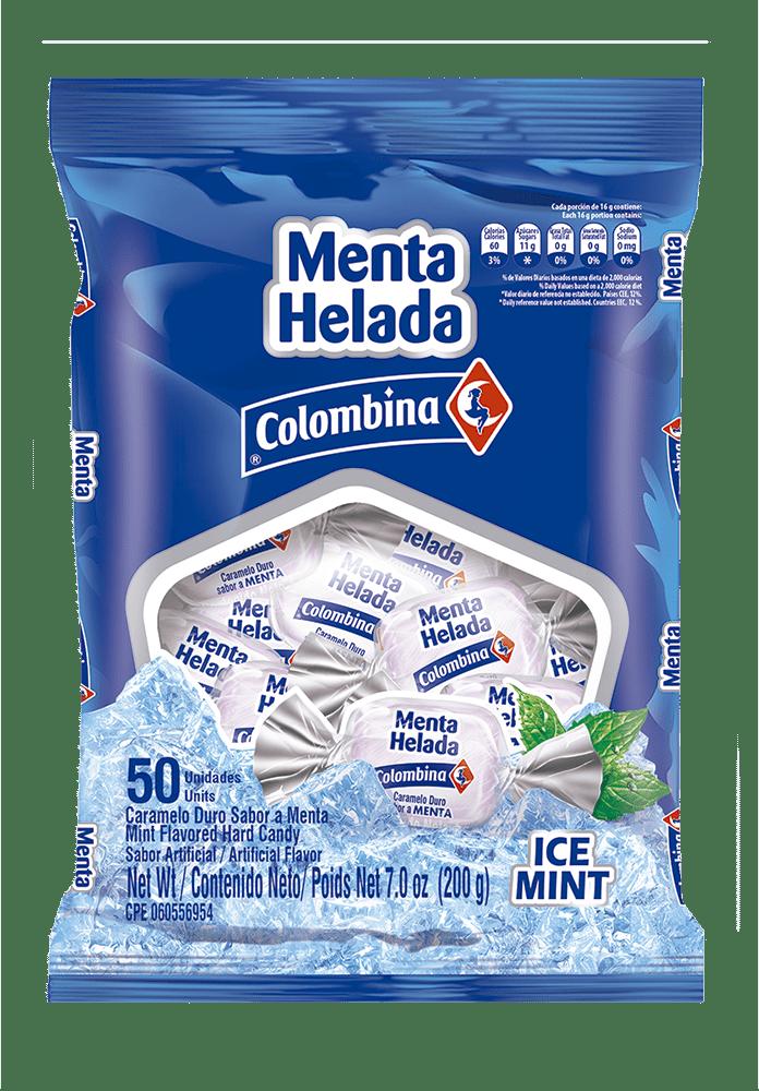 Menta Helada X50 Und Colombina 200 G