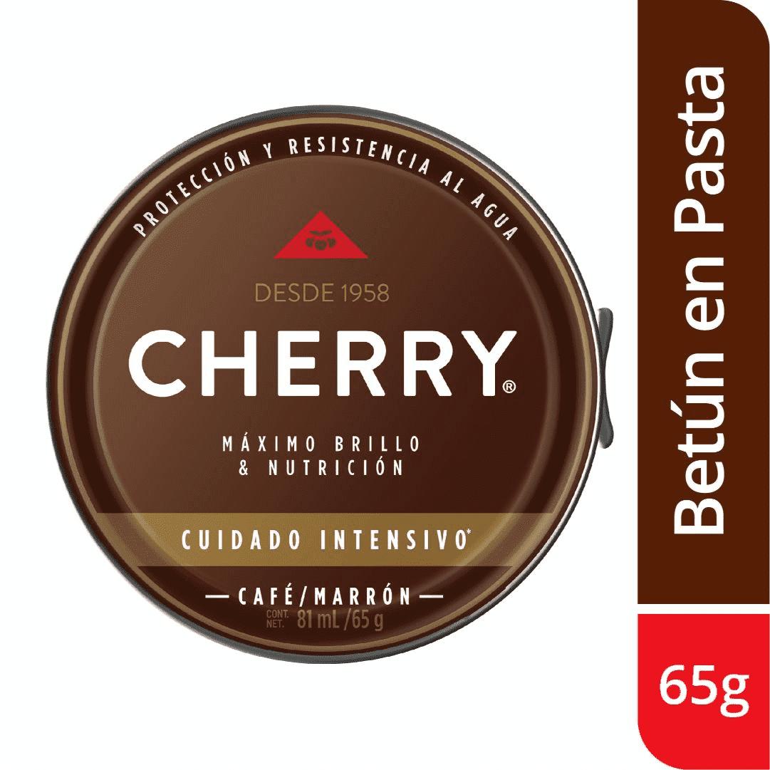 Betún Pasta Cherry Marrón 65G