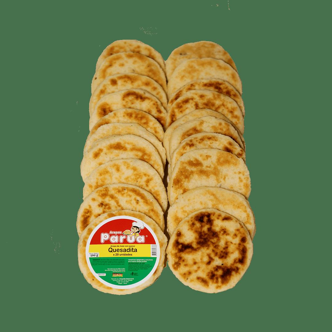 Arepa Parua Quesaditas Paquete X20 /500 G