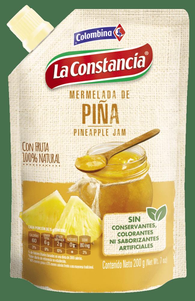 Mermelada La Constancia Piña Doypack 200 G