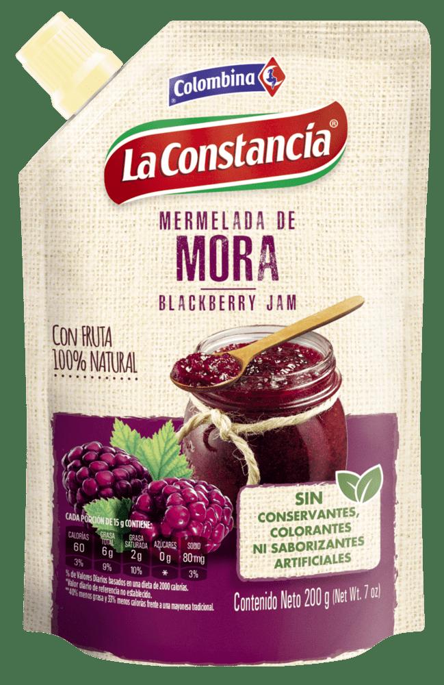 Mermelada La Constancia Mora Doypack 200 G