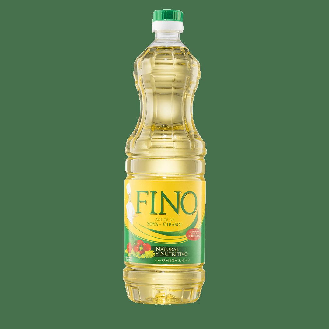 Aceite Fino Soya Girasol 1000 Ml