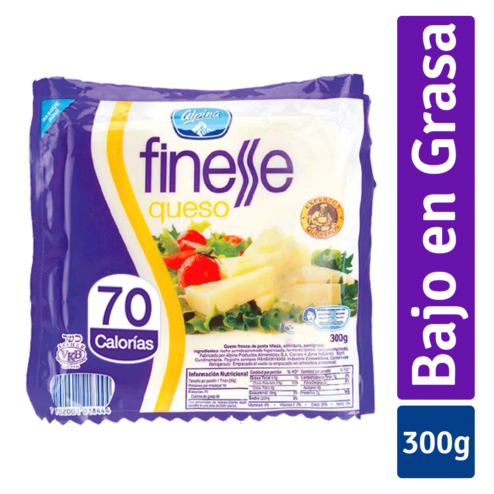 Queso Finesse 300 G