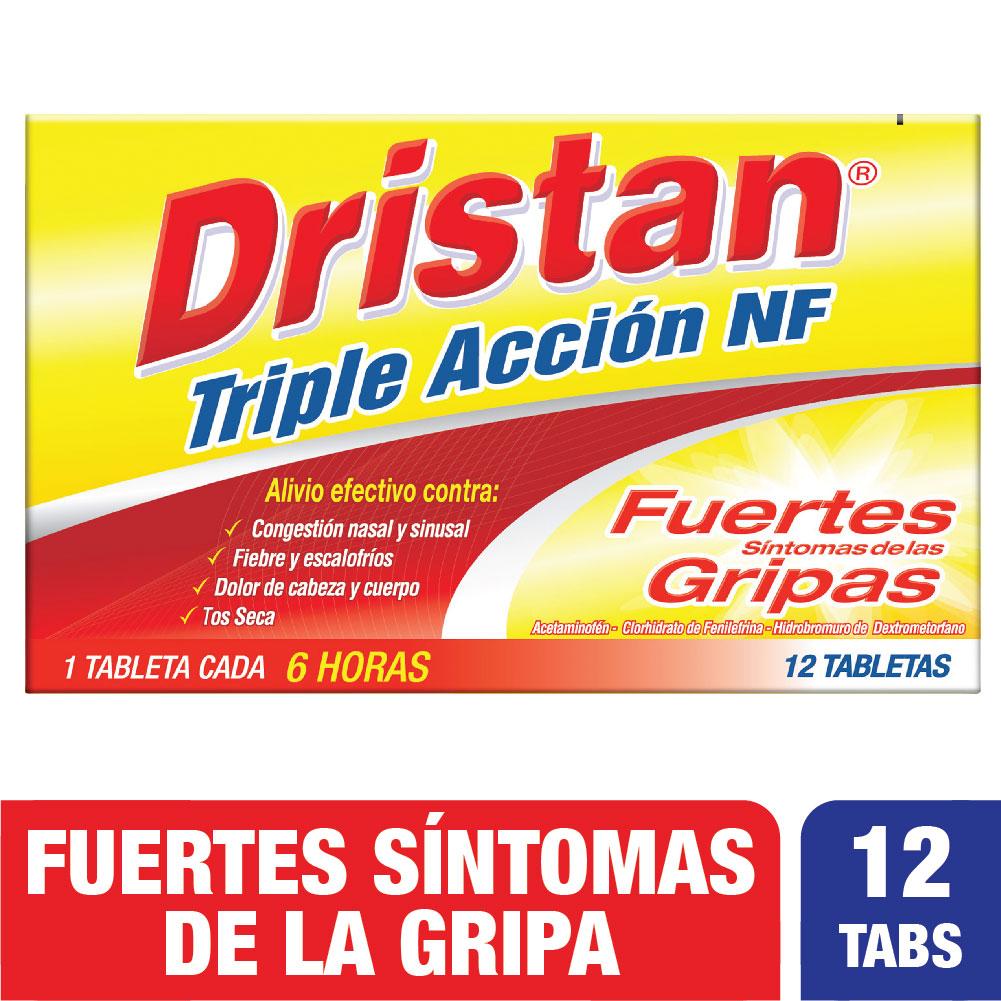 Dristan Triple Acción 12 Tabletas