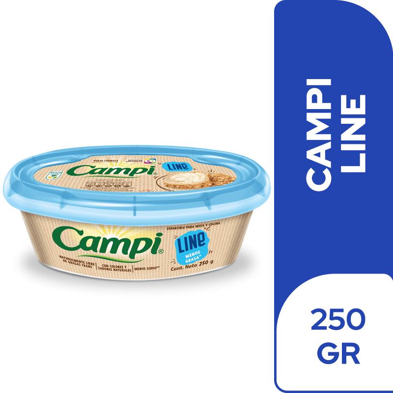 Margarina Campi Light 250 G
