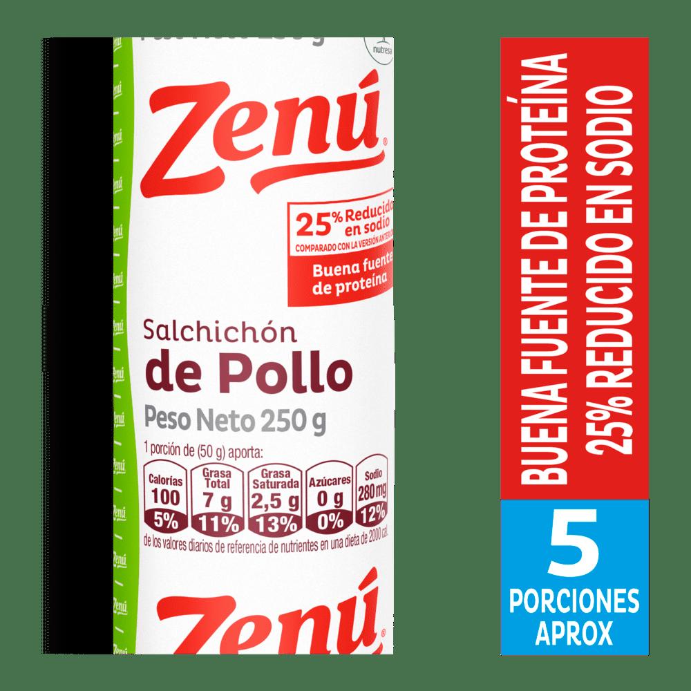 Salchichón Zenú Pollo 250 G