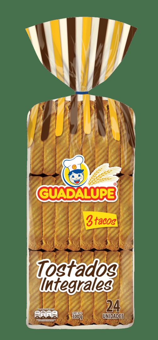 Tostadas Guadalupe Integrales  X24 Und 280 G