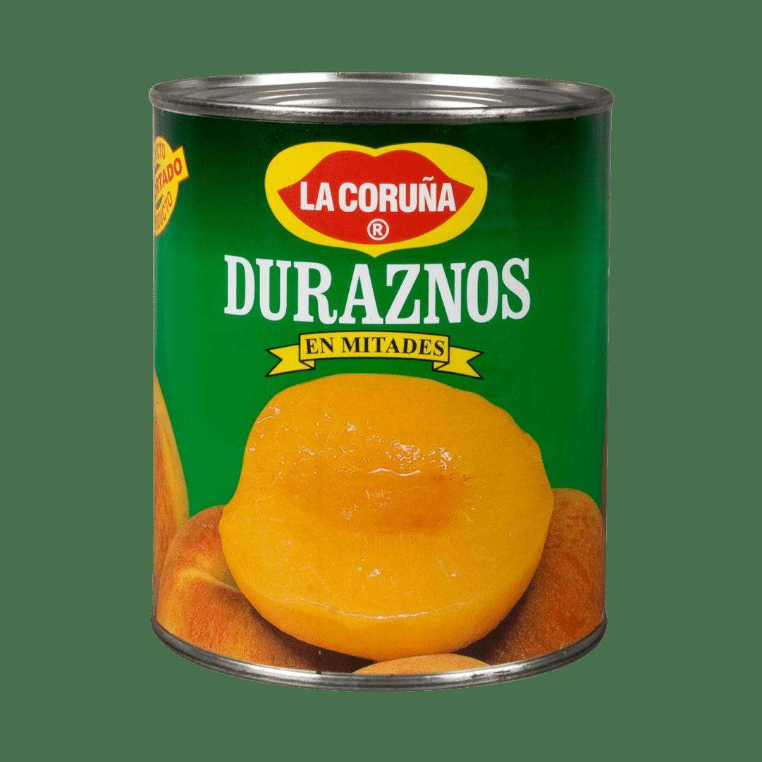 Duraznos La Coruña Mitades 820 G