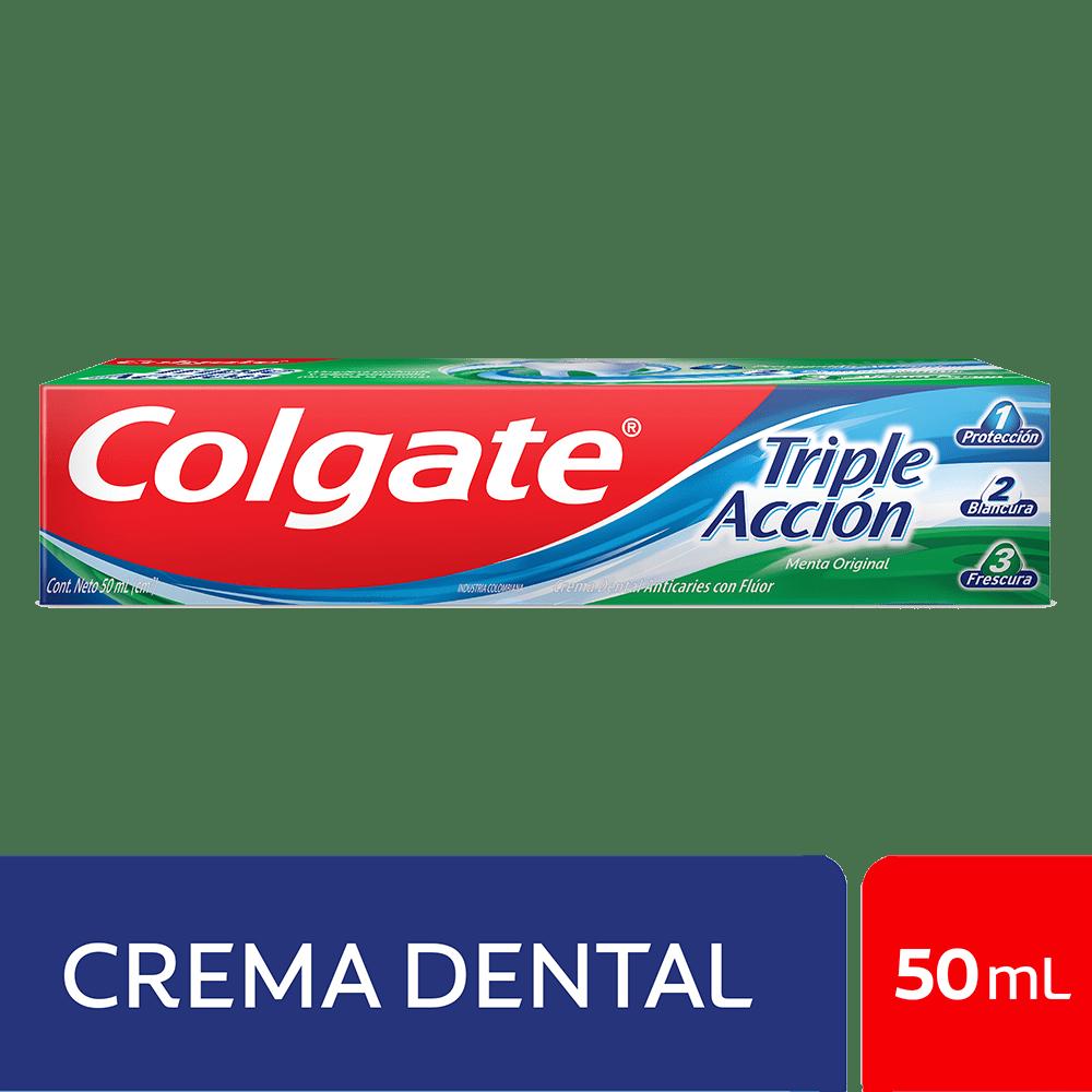 Crema Colgate Triple Acción 50 Ml