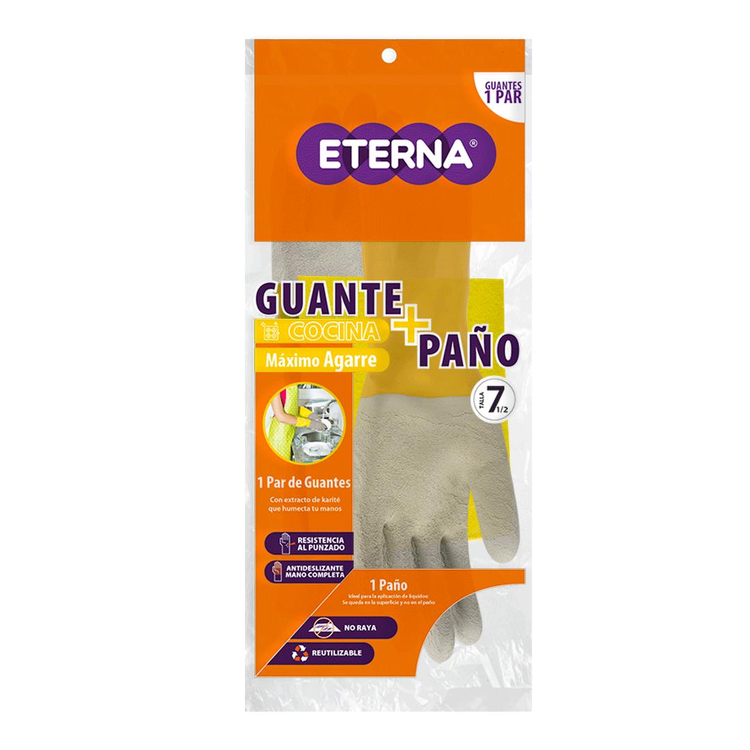Guante Eterna Antidesliz Multiusos T 7.5 DomStico Gts Paño