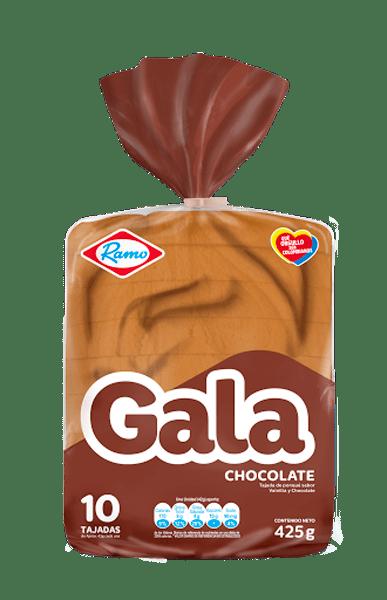 Ponque Gala Bloque Chocolate 425 G