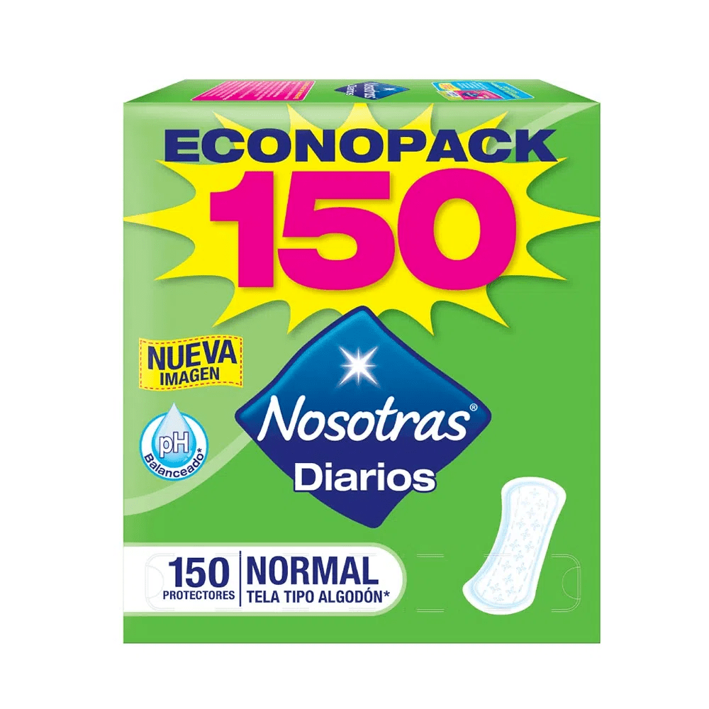 Protector Diario Nosotras X 150 Und