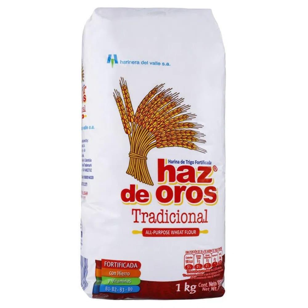 Harina De Trigo Haz De Oros 1000 G