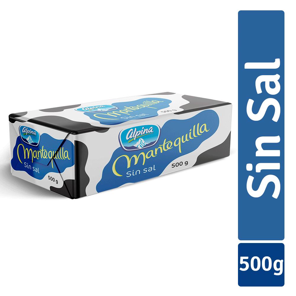 Mantequilla Sin Sal 500G