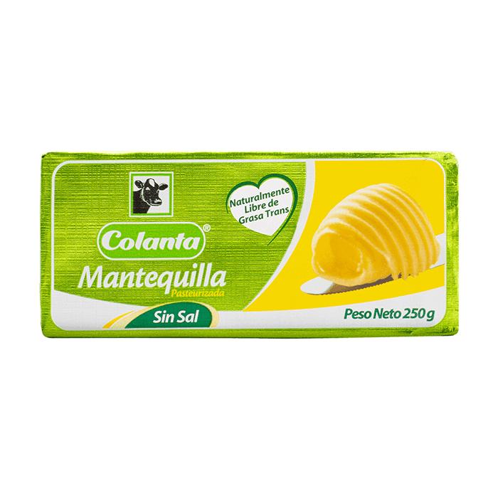 Mantequilla Colanta 250 G