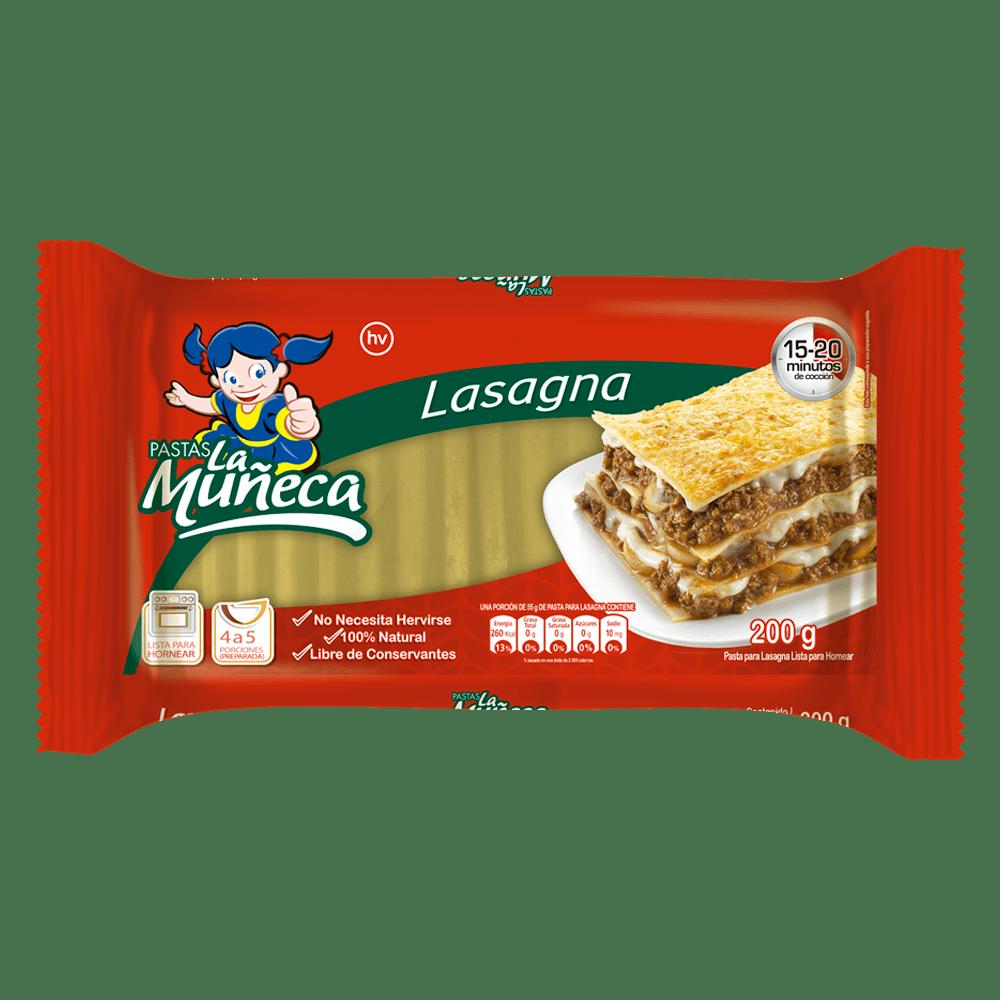 Pasta La Muñeca Lasagna 200 G