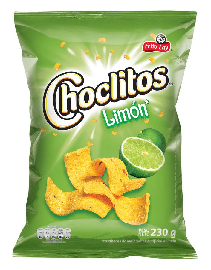 Choclitos Limón Familiar 230 G